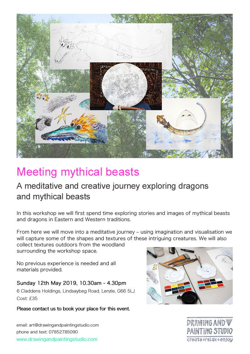 Meeting mythical beasts flyer